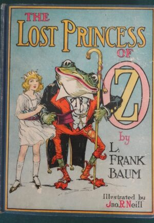 Lost Princess of oz book Color plates l frank baum