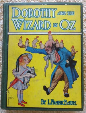 Dorothy and the wizard in oz book l frank baum color plates