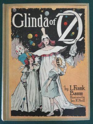 Glinda of Oz book Reilly & Lee color plates