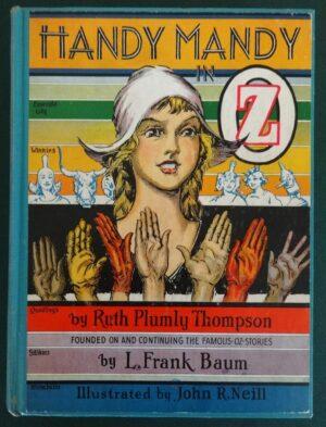 Handy Mandy in oz book 1st edition ruth plumly thompson