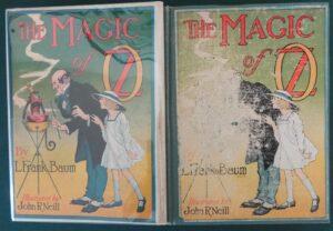 Magic of oz book color plates l frank baum 1919