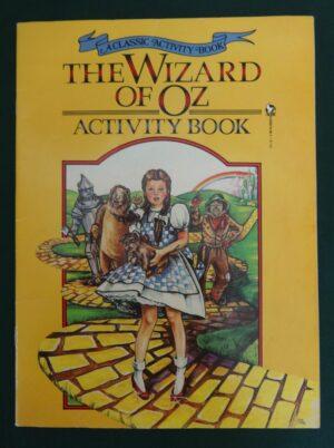 Wizard of Oz Activity Book 1987
