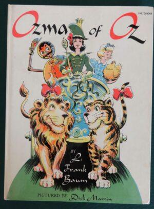 Ozma of oz book Dick Martin 1961 wizard of oz