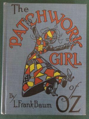PATCHWORK GIRL OF OZ Book 1923 L Frank Baum