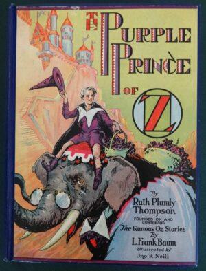 Purple Prince of oz book 1st edition ruth plumly thompson