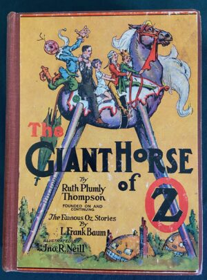 Giant Horse of Oz book 1st edition