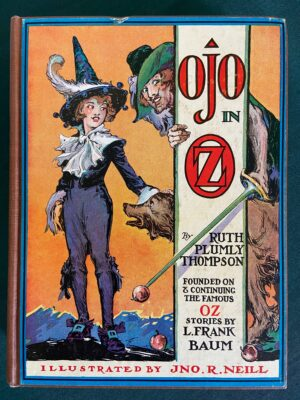 Ojo in oz first edition wizard of oz book 1933