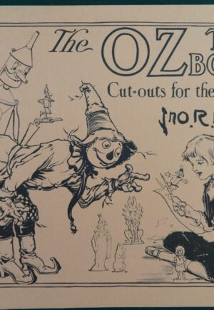 wizard of Oz Toy Book 1915 replica john r neill