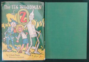 Tin Woodman of Oz book Roycraft Dust Jacket