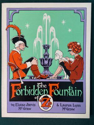 Forbidden Fountain of Oz Book Ruth Plumly Thompson