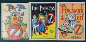 White Edition Wizard of Oz Books
