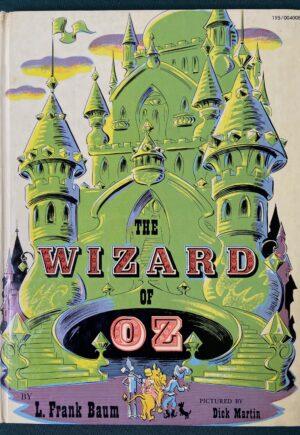 Wizard of Oz 1961 Book Dick Martin L Frank Baum