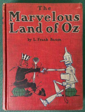 Marvelous Land of Oz book 1st edition l frank baum