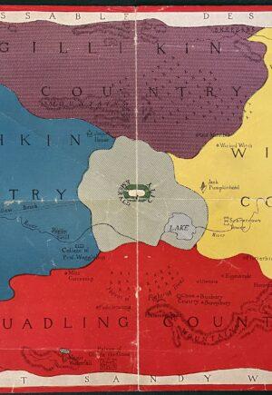 Wizard of oz color map 1920 land of oz tik tok man of oz