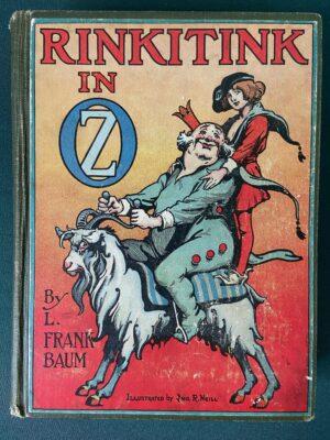 Rinkitink in Oz 1st edition wizard of oz book 1916 Reilly & Britton