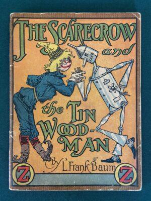 Scarecrow and Tin Woodman Jigsaw Book