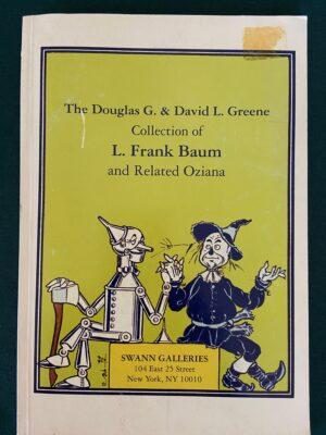 Greene Collection Auction catalog swann