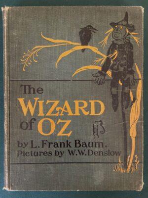 Wizard of Oz book bobbs merrill 2nd edition 1903 l frank baum