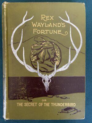 Rex Waylands Fortune Denslow Cover 1897 book laird & lee