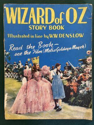 Wizard of Oz Story Book Hutchinson 1940 movie