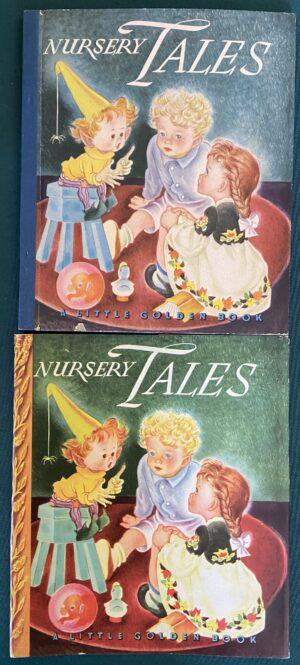 Nursery Tales Little Golden Book Dust Jacket War Bonds 1943 1945